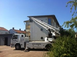 Ett jobb för Sydmåleri i Höllviken
