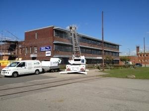 Fasadtvätt på Bjurögatan för PeTre bygg